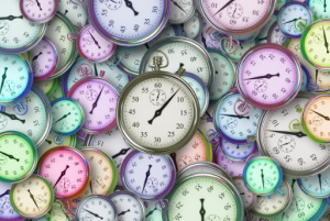Clocks and stop watches Time management
