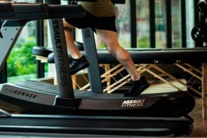 treadmill illustrating time management